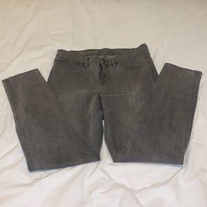 Madewell Skinny Skinny Ankle Jeans - Gray 28